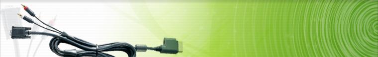 Xbox 360™ VGA HD AV Cable